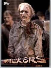 The Walking Dead Season 5 Walkers  Card    #W-10