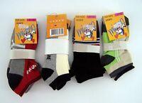 Socken für Jungen Sneaker mehrfarbig 4 x 2er Pack neu von Miamo & Sport Line