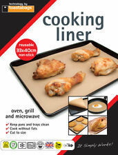 Reusable Cooking Liner 33 x 40cm, non stick- Keeps Oven tray Clean CSG3040PP