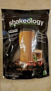 New Sealed Unexpired Cafe Latte SHAKEOLOGY 30 day bag meal replacement
