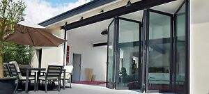Aluminium Bi fold Door Bi folding Doors Patio Sliding FreeDelivery