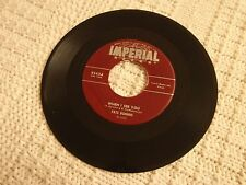 FATS DOMINO WHEN I SEE YOU/WHAT WILL I TELL MY HEART IMPERIAL 5454