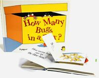 How Many Bugs In a Box, FIRST EDITION David A Carter, Pop Up Book RARE