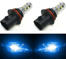 LED 50W 9007 HB5 Blue 10000K Two Bulbs Head Light Replace DRL Lamp Off Road