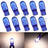 10x T10 168 5W XENON Halogen Optik Standlicht Rücklicht Super Weiß Birne Lampe