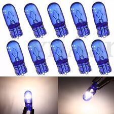 10x T10 W5W 5W XENON Halogen Optik Standlicht Rücklicht Super Weiß Birne Lampe