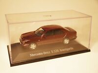 "Mercedes W 210 ""E Klasse"" 320 AVANTGARDE in rot roja red metallic, Herpa 1:43!"