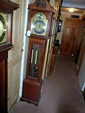 Grandmother clock  weight driven westminster chime
