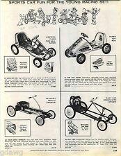 1963 ADVERT Western Flyer Fire Ball Racer Pedal Car Evans Astrojet AMF Scat Car