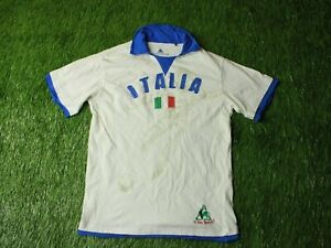 ITALY TEAM FOOTBALL shirt JERSEY LE COQ SPORTIF RETRO REPLICA ORIGINAL YOUNG XL