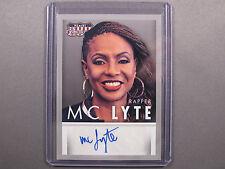 Hip Hop Rapper MC Lyte Autograph Auto Card 2015 Americana