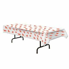 Crawfish Tablecover Party Accessory