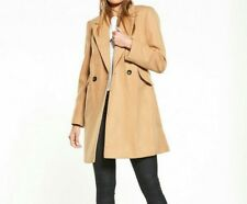 B 234# Miss Selfridge Wool Coat size 16 RRP£60