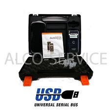 ETILOMETRO PORTATILE AL 9000 USB - Sensore elettrochimico + valigetta + software