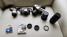 Lot of photo gear:Canon EOS Elan IIe, EOS iX, Sigma 28-80, Sigma 70-300, Tokina