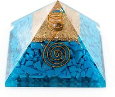 Orgonit Pyramide Türkise Energie Energiespirale programmiert nach Agnihotra 296