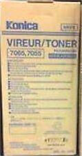 (2) Genuine Konica 950-665 Toner 950665  use in Konica 7055 7065 Copiers NIB