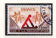 TIMBRE FRANCE OBLITERE N° 2023 AIDE A LA READAPTATION /