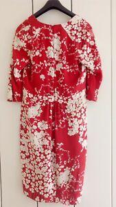 Etro Kleid Sommer Seide dress size M-L 46 Summerdress Neu Silk Sommerkleid