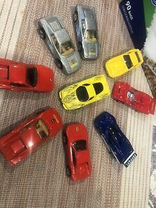Hot Wheels Ferrari Loose Hw Mixed Lot of 9 / Hot Wheels Testarosa / Enzo + +