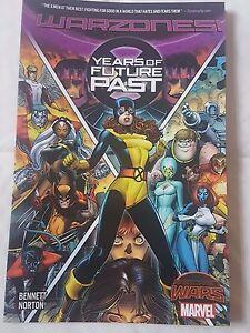 Marvel Secret Wars Years of Future Past Warzones Trade Paperback