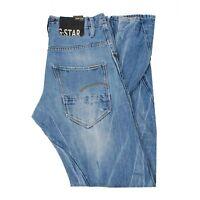 25151 G-Star Arc Conique Ample Bleu Hommes Jean En Taille 31