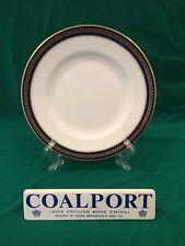 Coalport BLUE WHEAT Salad Plate - Cobalt & Gold - Multiple Available