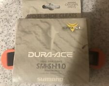 Genuine Shimano SM-SH10 SPD-SL Road Cleats Red Fixed Float fits Dura-Ace Ultegra