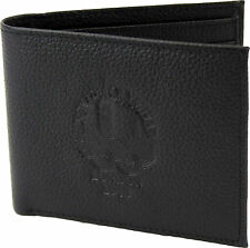 OFFICIAL LONDON 1948 OLYMPIC HERITAGE MUSEUM DESIGN BLACK LEATHER WALLET