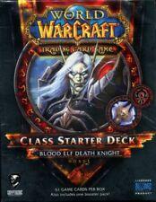 New Sealed Class Starter Deck Blood Elf Death Knight Horde World of Warcraft TCG