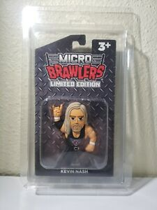 Limited Edition PWT Kevin Nash Micro Brawler 221 /350 w/ Protector Case