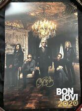 Bon Jovi 2020 Signed Autographed Poster Sold Out