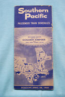 Southern Pacific Time Table - April 29, 1962 - 31 pages