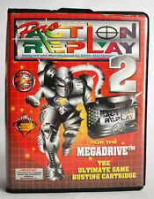 VINTAGE PRO ACTION REPLAY 2 FOR SEGA MEGA DRIVE GAME BUSTING NEW MIB NOS !