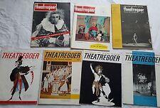 AUSTRALIAN THEATREGOER MAGAZINES x7,EARLY 1960s,*SCARCE* NEWS,REVIEWS,PHOTOS,ADS