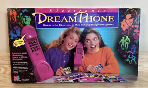 1991 Dream Phone Board Game Milton Bradley **Missing Pieces Please Read**
