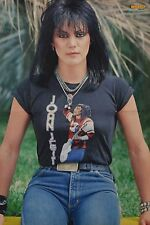 Joan Jett-POSTER a3 (circa 42 x 28 cm) - skinning The Runaways fan Raccolta Nuovo