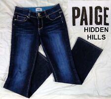 PAIGE Jeans Women's Size 28 x 32 Hidden Hills Dark Wash Blue Indigo Bootcut