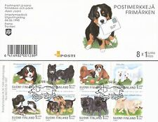 Finland 1998 Used Booklet - Puppies Dogs - Issued June 4, 1998