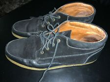 POINTER Suede Black  Lace-up Casual Shoes- Size UK 9  Us 10