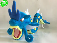 High 12'' Gyarados Plush Wow Pokemon Stuffed Doll PNPL8280 Blue