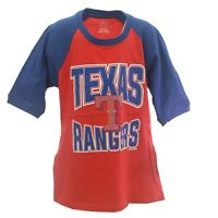 Texas Rangers Official MLB Genuine Kids Youth Girls Size T-Shirt New Tags