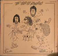 THE WHO BY NUMBERS LP POLYDOR 1975 GERMAN PRESS PRO CLEANED