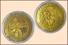 Tourist Dollar :- Kalgoorlie Goldfields WA.'Brass' No Dated