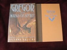Suzanne Collins - GREGOR AND THE MARKS OF SECRET -  1st (EX-LIBRARY)