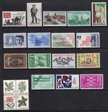 US 1964 Commemorative Year Set of 20 w/ 1181 Civil War, 1242-1260 - MNH*