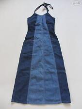 Levi's Denim Kleid, Jeanskleid, Gr. S, wie NEU ! Bodenlang mit Neckholder ! 36