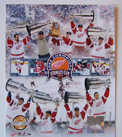 """DETROIT RED WINGS SERIAL# 02 SC CHAMPION 8X10 """"RARE """""""