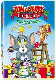 Tom and Jerry's Christmas Paws For A Holiday DVD - Kids Family Cartoon **NEW**