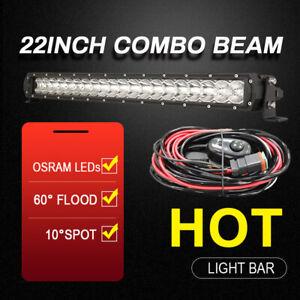 "OSRAM LED Light Bar 22 inch Spot Flood Combo Driving Offroad Truck 4WD 22"" Slim"